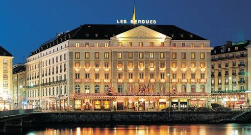 Caviarlieri available at Four Seasons Hotel des Bergues in Geneva, Mont Blanc Spa