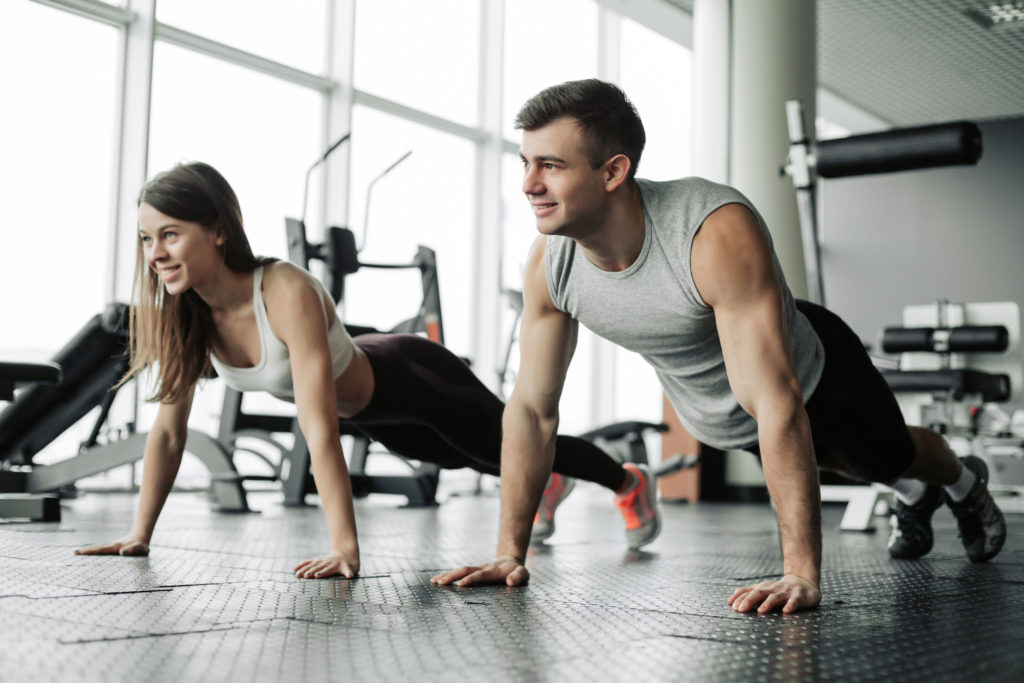 couple exercising for better health and immunity