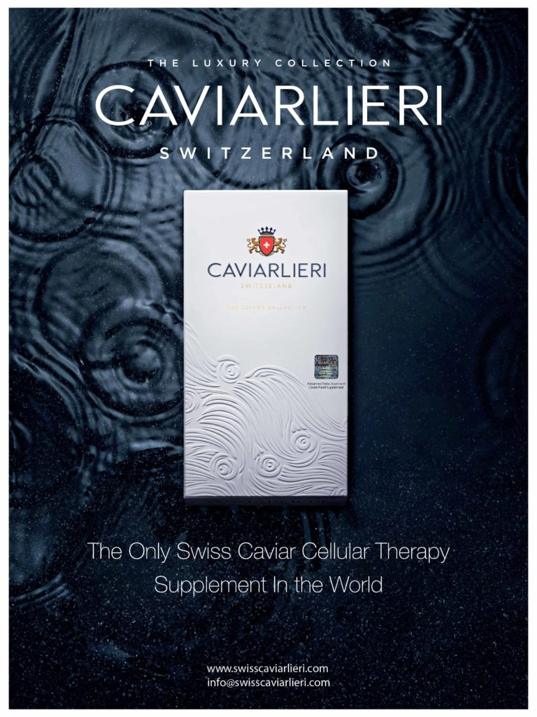 caviarlieri, the only swiss caviar cellular therapy food supplement in the world
