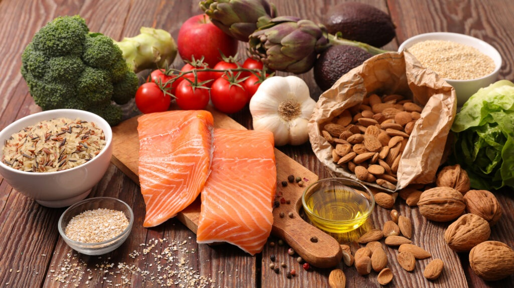 nutritional foods helps with infertility