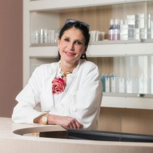 Dr.med.Brigitte Bollinger, Specialist FMH for Dermatology and Venereology Medical Centre Bad Ragaz, Switzerland, caviarlieri